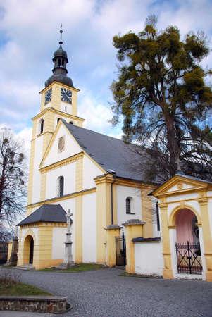 nad: church in Hradec nad Moravici