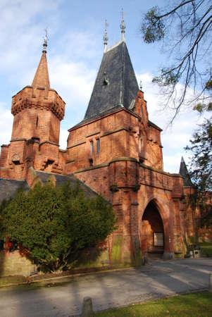 nad: romantic castle Hradec nad Moravici