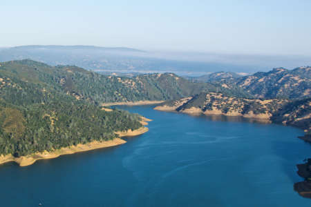 View of Lake Berryessa from the Blue Ridge Trail