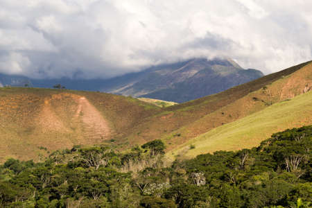 deforested: Mountais of Petropolis, Rio de Janeiro, Brazil