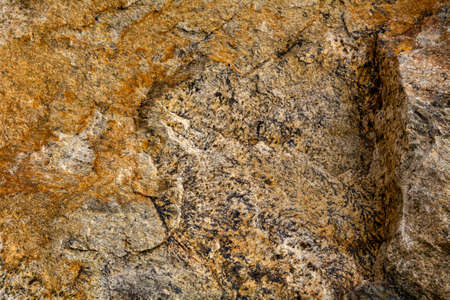 Gabbro, a phaneritic, mafic intrusive igneous rock resulting from slow cooling of magnesium-rich and iron-rich magma into a holocrystalline mass inside the Earths surface -geology texture and background