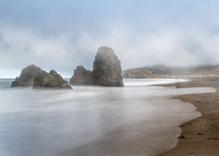 It is often foggy in the Marin Headlands. That day  sat with my camera for a long exposure and did see some ghosts of past