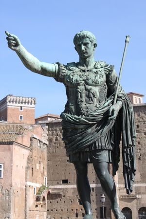Roman emperor Augustus photo