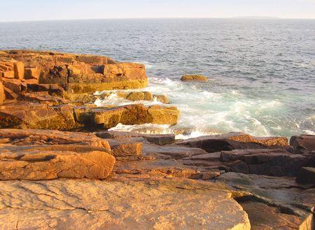 Acadia National Park seacoast photo