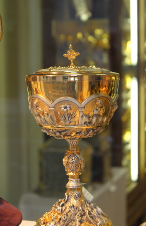 supper: Holy chalice