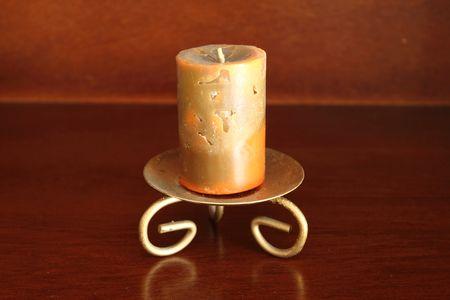 stuartkey: Artistic candle