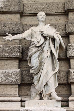 estatua de la justicia: Estatua de Marco Tulio Cicer�n