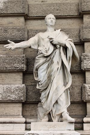 statuary: Statue of Cicero