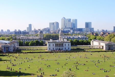 London from Greenwich hill