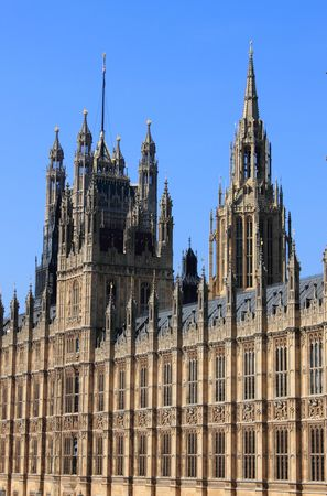Houses of Parliament in London Stock Photo - 7646411