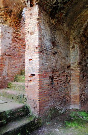 Ancient roman house photo