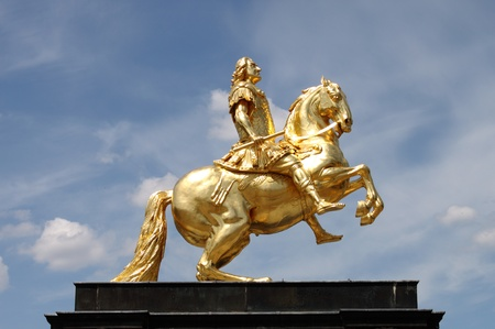 augustus: Augustus II The Strong statue, Dresden (Germany)