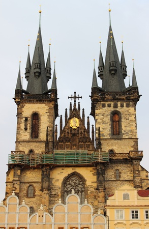 tyn: Church of Our Lady in front of Tyn in Prague