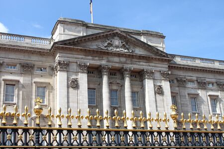Facade of Buckingham Palace in London, UK Stock Photo - 11952174