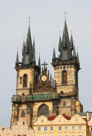 Church of Our Lady in front of Tyn in Prague photo