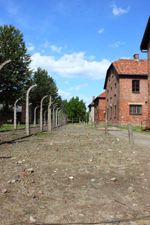 Auschwitz concentration camp, Poland Stock Photo - 12073238