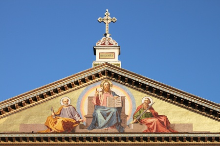 Basilica of Saint Paul outside the walls in Rome, Italy photo
