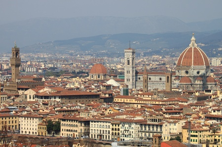Landscape view of Florence, Italy
