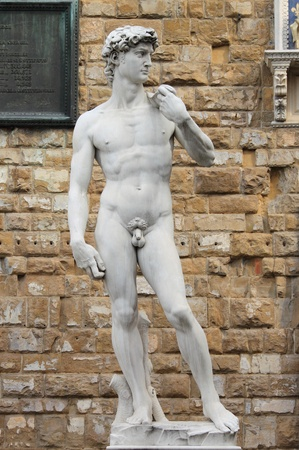 Statue of David from Michelangelo in Florence, Italy Stock Photo - 13227551