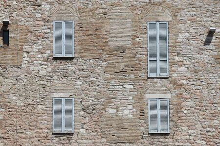 Italian style shutters Stock Photo - 13414989