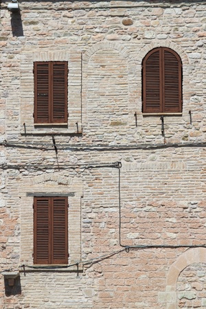 Italian style shutters  Stock Photo - 13414982
