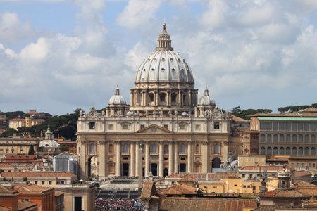 Saint Peter Basilica in Vatican  Italy