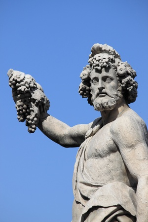 dionysus: Statue of Bacchus in Florence, Italy
