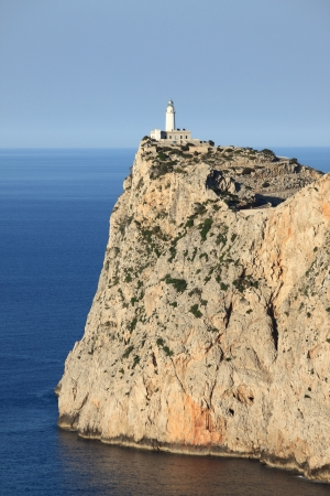 Lighthouse on Cap de Formentor. Mallorca island, Spain photo