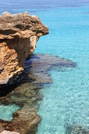 Beautiful mediterranean beach in Mallorca, Spain photo