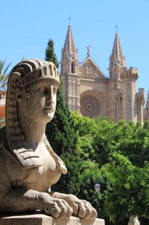 palma: Urban scenic in Palma de Mallorca, Spain