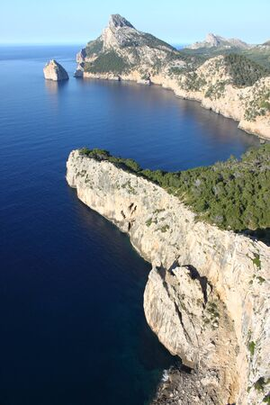 Cap de Formentor in Mallorca island, Spain photo