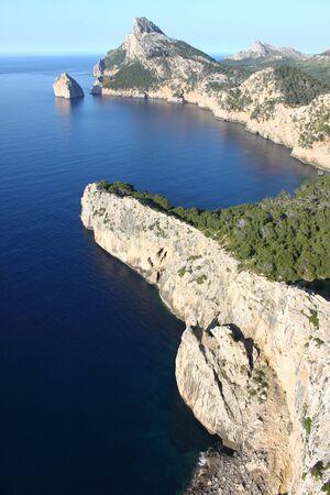 Cap de Formentor in Mallorca island, Spain photo