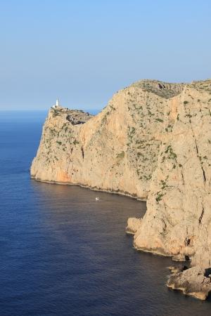 Lighthouse on Cap de Formentor. Mallorca island, Spain photo