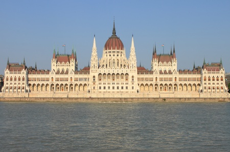 Parliament building in Budapest, Hungary Stock Photo - 14359951