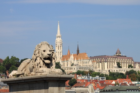 Urban scenic in Budapest, Hungary photo