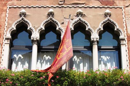 Reinaissance palace in Venice, Italy Stock Photo - 14834425