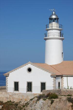 Cap de Capdepera Lighthouse. Mallorca island, Spain photo