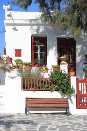 Urban scenic of Mykonos, Greece Stock Photo - 14964023