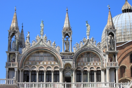 saint mark's: St. Mark Cathedral in Venice, Italy
