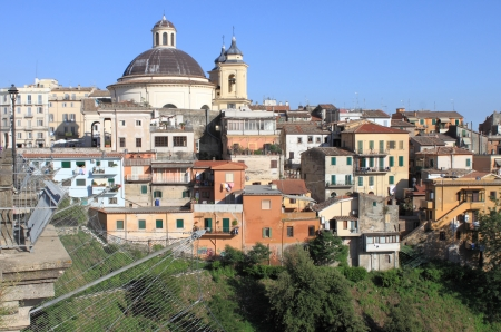 Ariccia, a little town near Rome. Italy