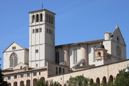 Saint Francis Cathedral in Assisi, Italy Stock Photo - 15568385