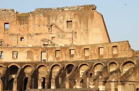 Internal side of Colosseum. Rome (Italy) photo