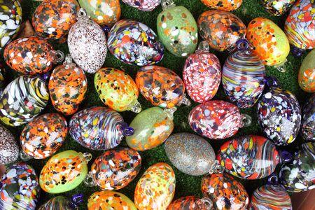 murano: Colorful pendants made of Murano glass