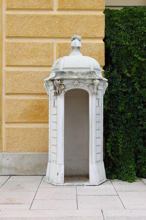 sentry: Sentry box in Schonbrunn Castle, Vienna