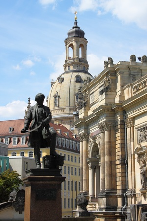 Beautiful urban scenic in Dresden, Germany Stock Photo - 16185044