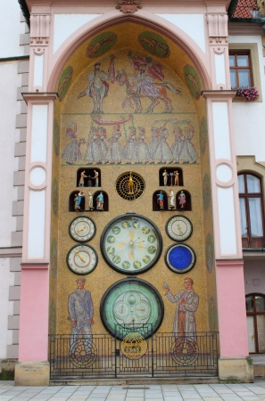 Astronomical clock of Olomouc, Czech Republic Stock Photo - 16532940
