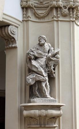 religiosity: Statue of Saint Matthew the Evangelist