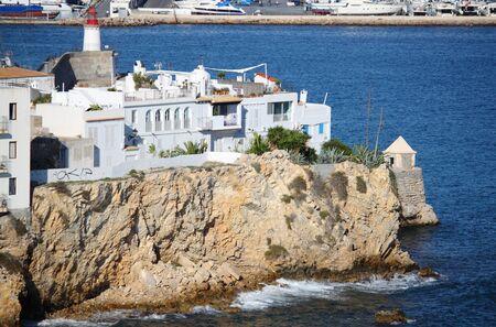 distric: Sa Penya Distric in Ibiza Town, Balearic Islands, Spain