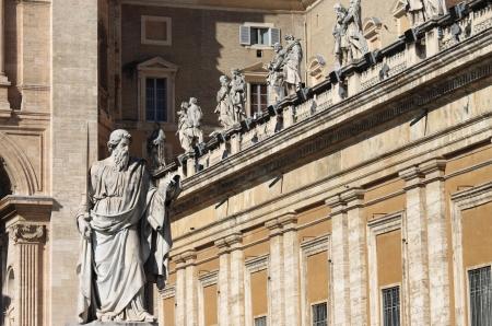 apostle paul: Statue of Saint Paul the Apostle in Vatican City, Rome
