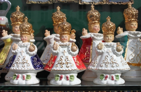 Some statues of the Infant Jesus of Prague Stock Photo - 17030068
